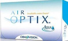 Soczewki Miesięczne Air Optix Aqua